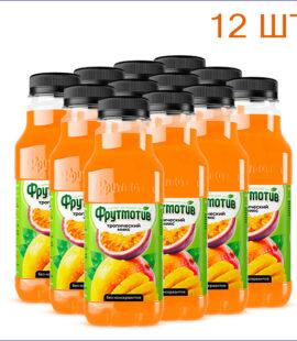 """Напиток """"Фрутмотив"""" тропический микс 0,5л./12/ПЭТ - 12"""