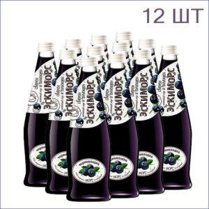 """Морс """"Эскиморс"""" черноплодка 0,5л./12/СТ - 12"""