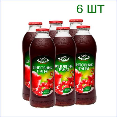 "Нектар ""Аршани"" шиповник-гранат с фруктозой 1л./6/СТ - 6"