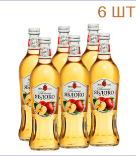 "Лимонад ""Вкус Года"" яблоко 0,6л./6/СТ - 6"