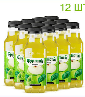 "Напиток ""Фрутмотив"" яблоко 0,5л./12/ПЭТ - 12"