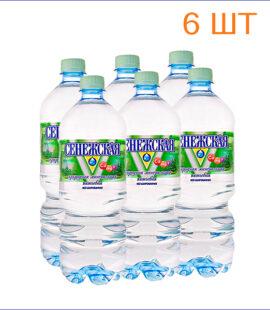 """Вода питьевая """"Сенежская"""" 1л./6/ПЭТ/негаз"""