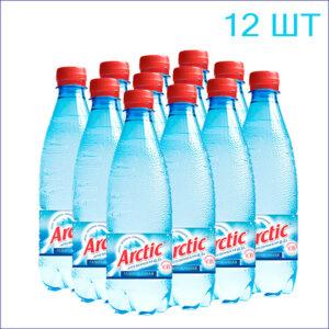 """Вода питьевая """"Arctic"""" 0,5л./12/ПЭТ/газ"""