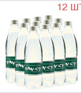 """Вода питьевая """"Тау-Су"""" 0,5л./12/ПЭТ/негаз"""