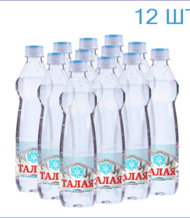 """Питьевая вода """"Талая"""" 0,5л./12/ПЭТ/негаз"""