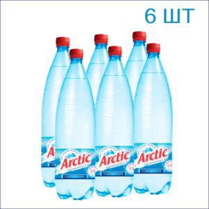 """Вода питьевая """"Arctic"""" 1,5л./6/ПЭТ/газ"""