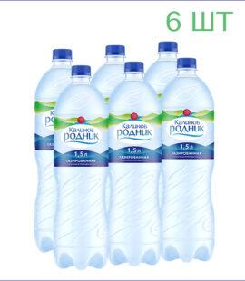 """Вода питьевая """"Калинов родник"""" 1,5л./6/ПЭТ/газ"""