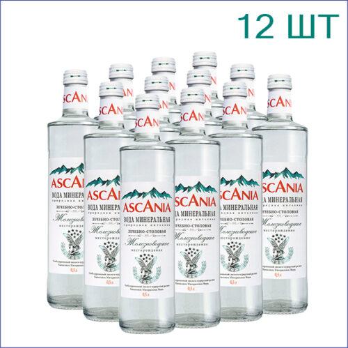 """Минеральная вода """"Аскания"""" 0,5л./12/СТ/газ"""