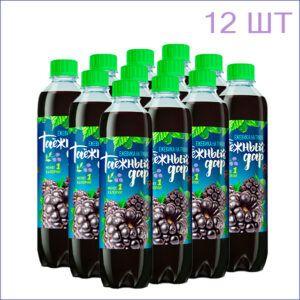"""Напиток """"Таёжный дар"""" ежевика 0,5л./12/ПЭТ - 12"""