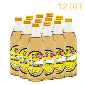 """Лимонад """"Старые Добрые Традиции"""" 0,5л./12/СТ - 12"""