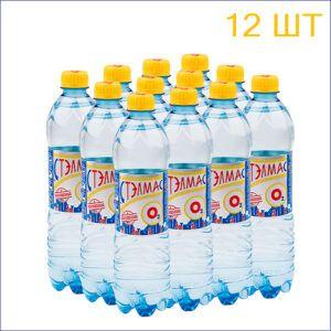 """Минеральная вода """"Стэлмас О2"""" 0,6л./12/ПЭТ/негаз"""