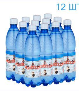 """Минеральная вода """"Сулинка"""" кремниевая 0,5л./12/ПЭТ/газ"""