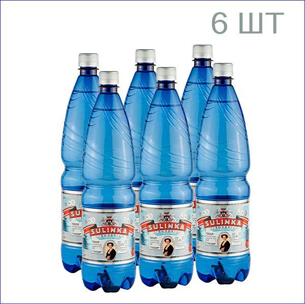 """Минеральная вода """"Сулинка"""" кремниевая 1,25л./6/ПЭТ/газ"""