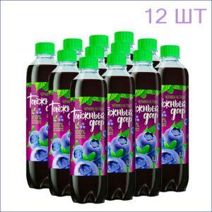 "Напиток ""Таёжный дар"" черника 0,5л./12/ПЭТ - 12"
