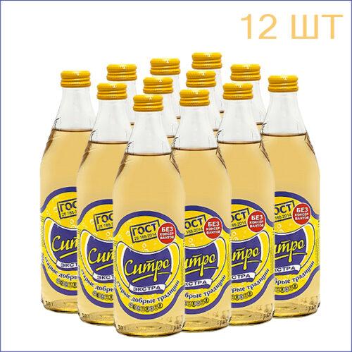 """Лимонад """"Старые Добрые Традиции"""" экстра-ситро 0,5л./12/СТ - 12"""