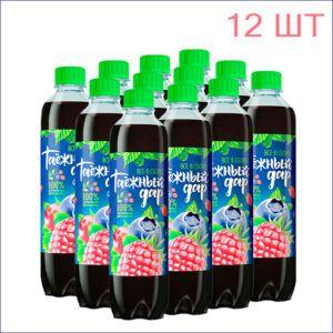 """Напиток """"Таёжный дар"""" ассорти 0,5л./12/ПЭТ - 12"""