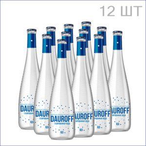 """Минеральная вода """"Dauroff"""" 0,5л./12/СТ/газ"""
