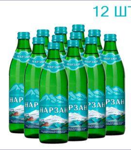 Минеральная вода «Нарзан» 0,45л./12/СТ/газ