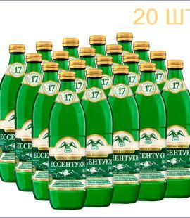 """Вода минеральная """"Ессентуки №17"""" 0,5л./20/ПЭТ/СТ"""