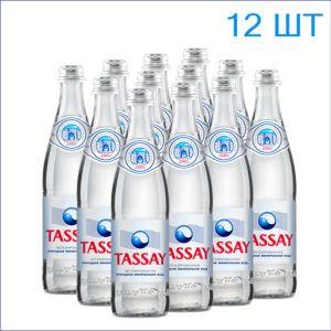 """Вода питьевая """"Tassay"""" 0,5л./12/СТ/негаз"""