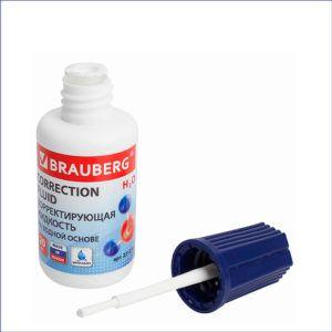 Корректирующая жидкость BRAUBERG (20мл)