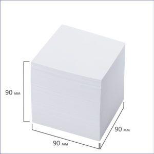 Куб для записей белый (9*9*9)