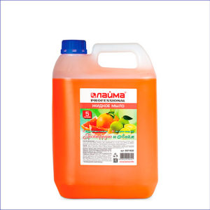Жидкое мыло ЛАЙМА Professional Грейпфрут и Лайм (5 л)
