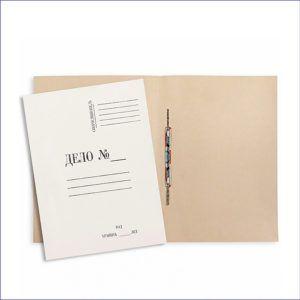 Папка скоросшиватель Дело (260 г/м, немелованная)