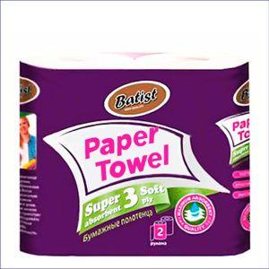 Бумажные полотенца BATIST (2 шт)
