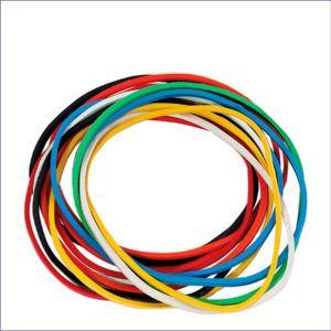 Резинки банковские цветные (60мм, 100г)