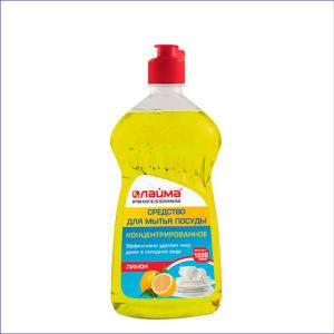 Средство для мытья посуды ЛАЙМА PROFESSIONAL Лимон (1 л)