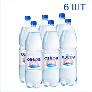 """Вода питьевая """"Родные Озёра"""" 1,5л./6/ПЭТ/негаз"""