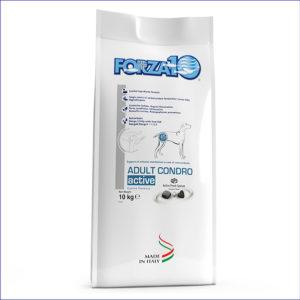 FORZA10 Adult Condro Active диетический корм для взрослых собак с патологиями опорно-двигательной системы из рыбы 10 кг