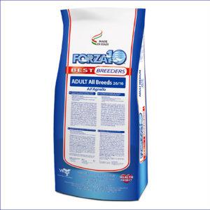 FORZA10 Basic Breeders Adult All Breeds 25.5/12 для взрослых собак всех пород из курицы 20 кг