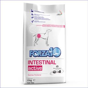 FORZA10 Intestinal Active для взрослых собак с проблемами ЖКТ 4 кг