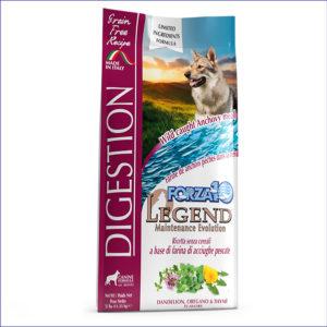 FORZA10 Legend Digestion беззерновой для взрослых собак всех пород с чувствительным кишечником 11,33 кг
