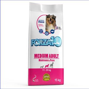 FORZA10 Medium Adult Maintenance для взрослых собак средних пород из рыбы 15 кг