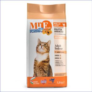FORZA10 Mr. Fruit Adult Indoor полнорационный для домашних кошек 1,5 кг