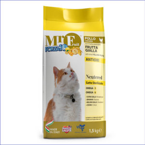 FORZA10 Mr. Fruit Neutered полнорационный для стерилизованных кошек 1,5 кг