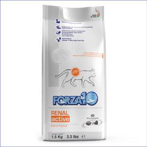 FORZA10 Renal Active диетический для взрослых кошек при заболеваниях почек 1,5 кг