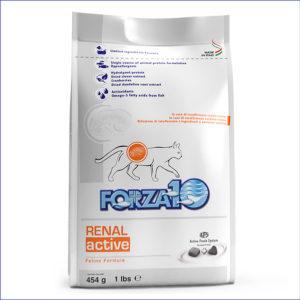 FORZA10 Renal Active диетический для взрослых кошек при заболеваниях почек 454 г