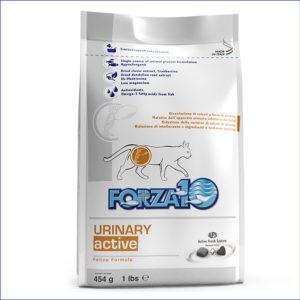 FORZA10 Urinary Active диетический для взрослых кошек с патологиями мочевыводящих путей 454 г