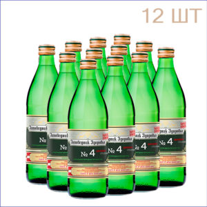 Вода минеральная Заповедник Здоровья №4 0,5л