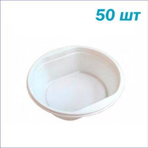 Тарелка глубокая суповая одноразовая 0,5 л.